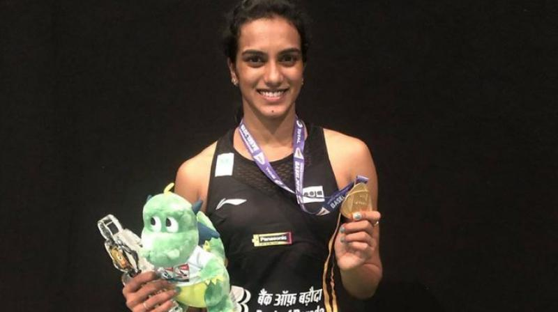 World Championships gold medalist PV Sindhu on Wednesday faced a defeat against Akane Yamaguchi in the BWF World Tour Finals 2019. (Photo:Instagram)