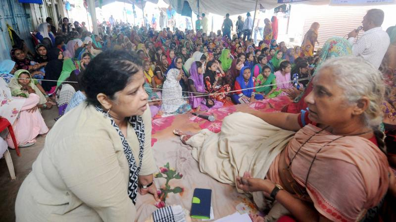 The government has not succeeded in making Medha Patkar call off the agitation so far. (Photo: PTI)