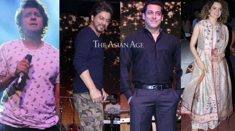Shah Rukh Khan, Salman Khan, Kangana Ranaut and other stars attended the International Customs Day event on Friday. (Photo: Viral Bhayani)