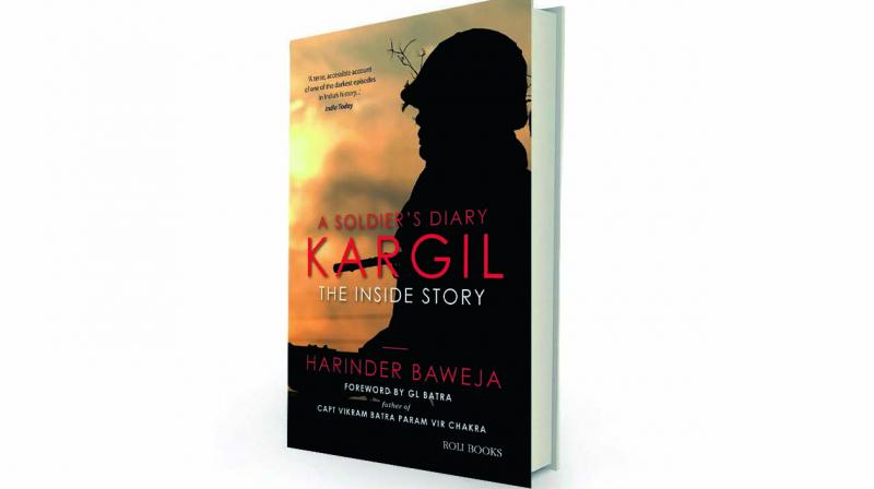 A soldier's diary: Kargil, the inside story by Harinder Baweja Roli Books, Rs 395