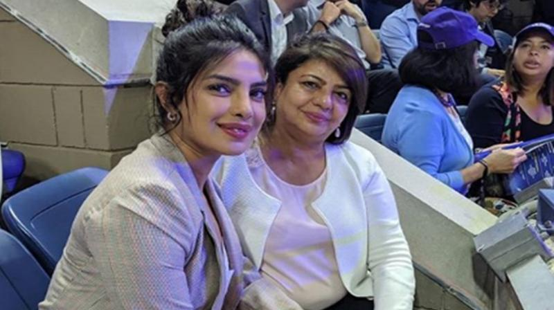 Priyanka Chopra with mom Madhu Chopra. (Photo: Instagram)