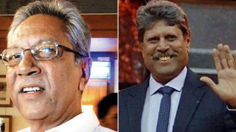 BCCI ethics officer DK Jain has asked Kapil Dev and Anshuman Gaekwad to appear in Mumbai later this month to explain conflict of interest allegations against them even though they have already resigned from the Cricket Advisory Committee (CAC). (Photo:AFP)