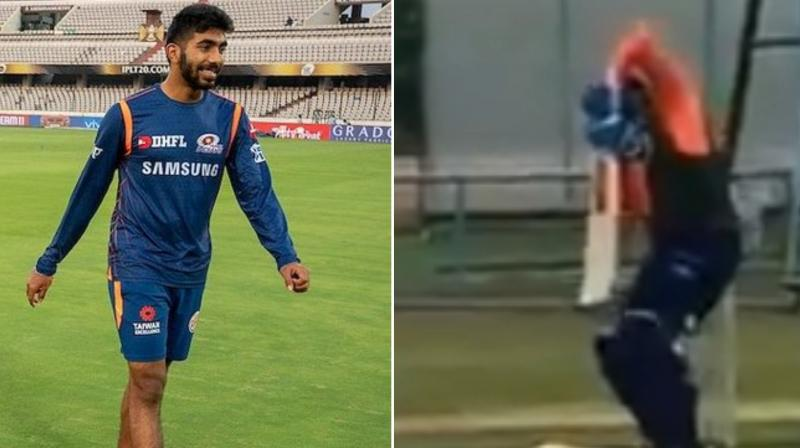 Jasprit Bumrah showed no signs of rustiness as he went full tilt at Rishabh Pant but the resurgent Prithvi Shaw looked far from being fit for international cricket during his session with trainer Nick Webb at India's optional practice here on Tuesday. (Photo:Twitter)