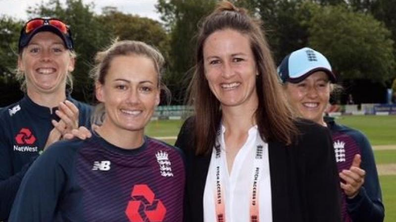 England spinner Laura Marsh on Monday announced her retirement from international cricket. The 33-year-old made her debut against India in 2006 as a seamer before switching to spin. (Photo:Instagram)