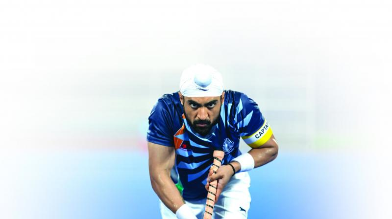 A still from the movie Soorma