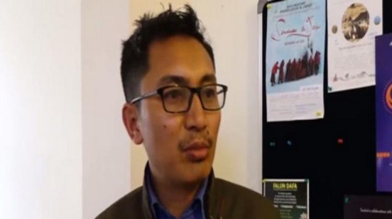 Ladakh lawmaker Jamyang Tsering Namgyal. (Photo: ANI)