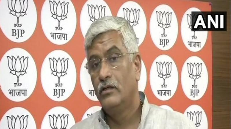 Union Jal Shakti Minister Gajendra Singh Shekhawat. (Photo: ANI)
