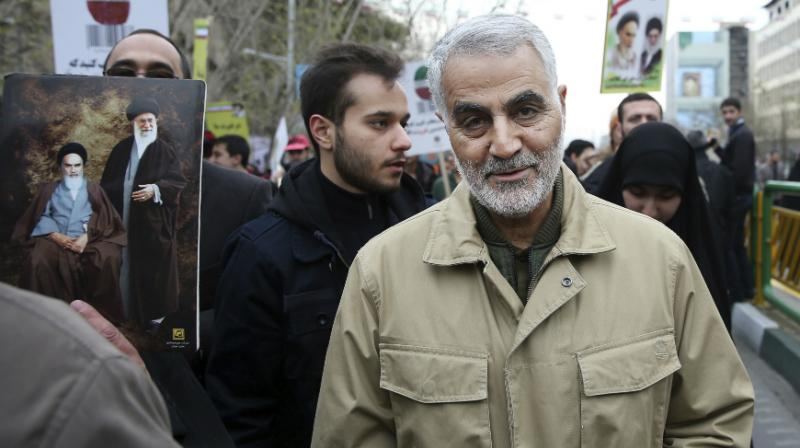 Soleimani heads the Islamic Revolutionary Guard Corps' Quds Force and also serves as Iran's pointman on Iraq. (Photo: AP)