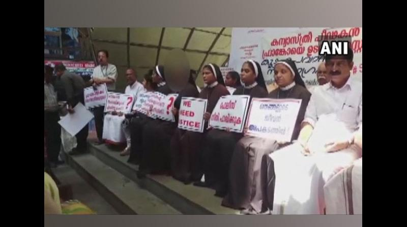 A Kerala nun, who has challenged the Franciscan Clarist Congregation's decision to expel her, has written to the Vatican, alleging the 'disciplinary action' was taken for participating in protests by a group of nuns seeking arrest of a bishop accused of raping a fellow nun. (Photo: File)