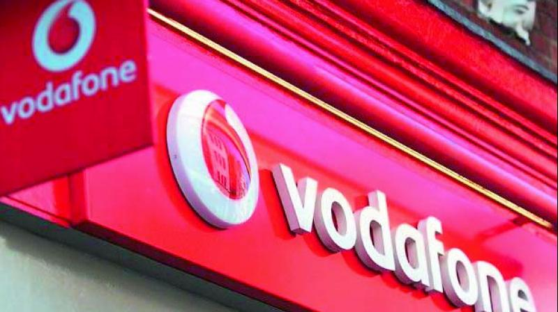 Vodafone's shares were up 0.6 per cent at 161 pence at 0931 GMT as investors focused on an upgrade to its earnings forecast rather than India.