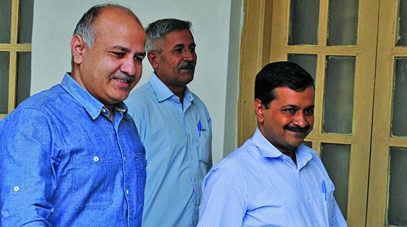 AAP plans to launch a 'movement' from on Tuesday demanding full statehood status for Delhi. (Photo: File)