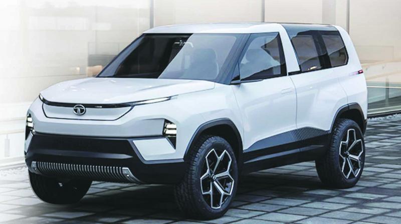 Tata Sierra EV Concept