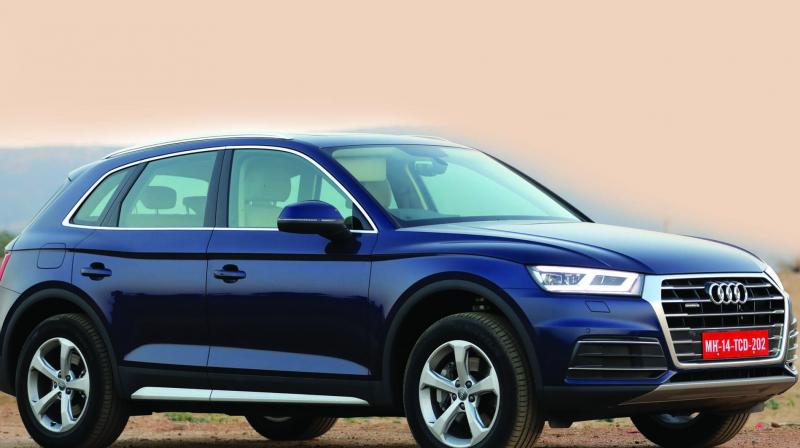 The Q5 is powered by a 1984cc, four-cylinder turbocharged petrol engine mated to a seven-speed dual-clutch transmission.