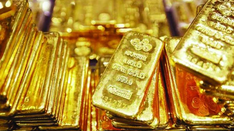 Globally, gold was trading higher at USD 1,520.37 an ounce in the New York, while silver was quoting higher at USD 17.32 an ounce.