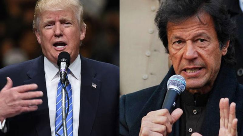 US President Donald Trump and Pakistan Prime Minister Imran Khan (Photo: AFP)