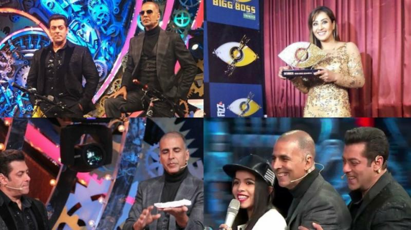 The grand finale of 'Bigg Boss 11' was held in Mumbai on Sunday, with Akshay Kumar being the star attraction. (Photo: Instagram)