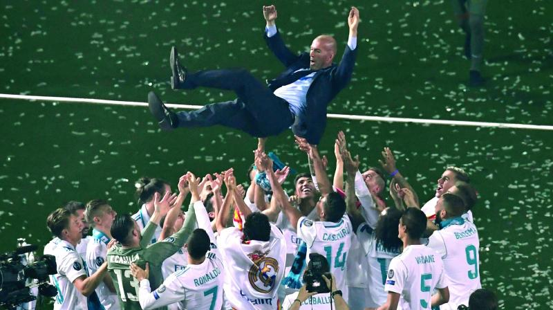 Barca's superiority has been clear for some time but Zidane's new era is up and running. (Photo: AFP)