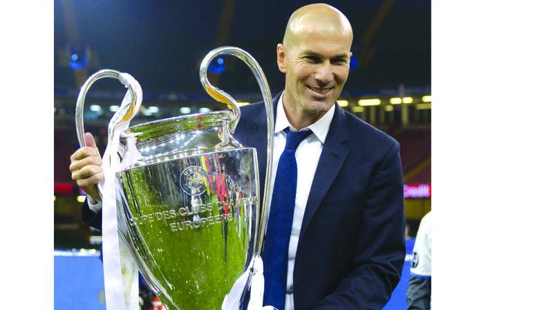 In his 11 games at the end of last season, Madrid won five, the only promise of progress the words Zidane kept repeating.