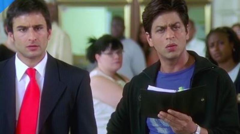 Saif Ali Khan feels SRK became famous by being a stalking; find out why
