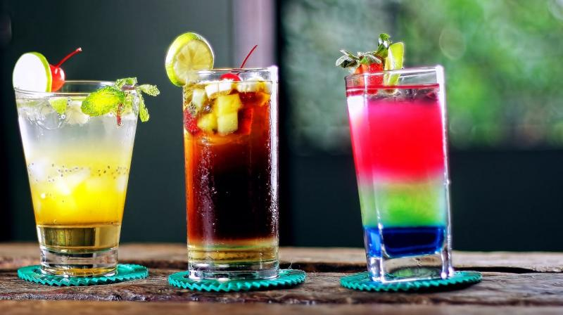 Blended cocktail layers inspired researchers to use the approach for a contraceptive. (Photo: Representational/Pexels)