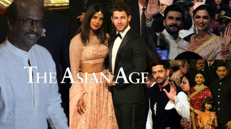 Pics: From DeepVeer to NickYanka, stars who attended Isha Ambani's wedding