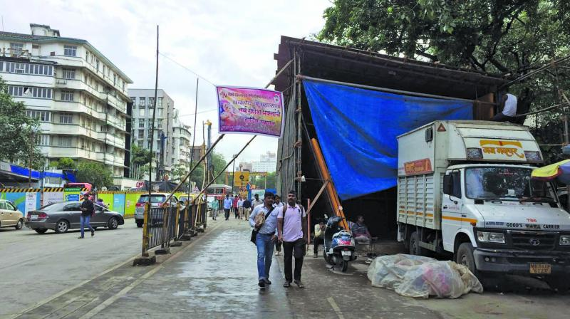 HC had asked state to ensure that not even one illegal pandal be erected in city.
