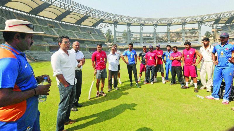 Vinayak Samant, the new gaffer is a believer of  bringing back the khadoos mentality.