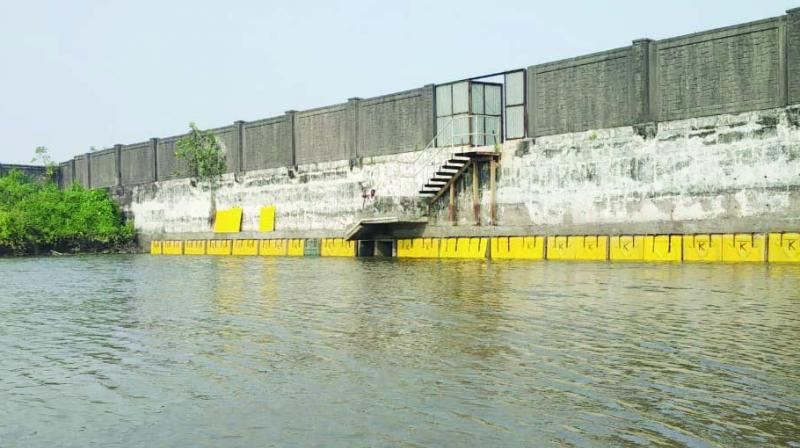 Sluice gates installed at Panje wetlands.
