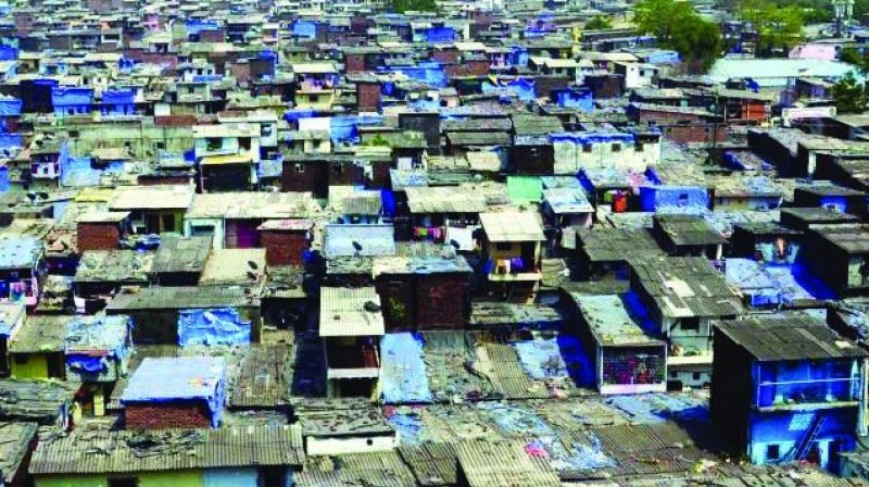 Thane has nearly 1,80,000 hutments, says SRA survey.