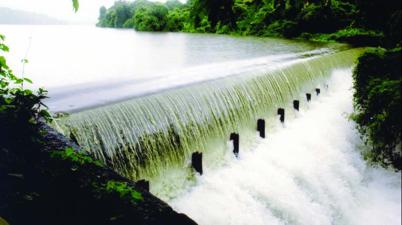 The situation arose due to poor rainfall in September, said an official of the irrigation department.