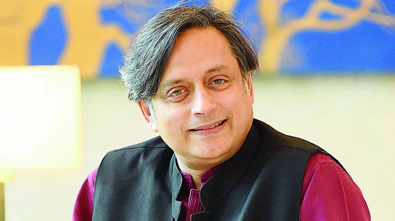 Senior Congress leader Shashi Tharoor. (Photo: File)