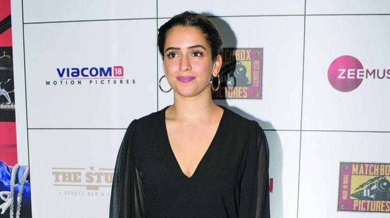Sanya Malhotra.