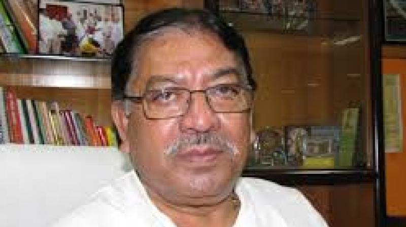 File image of deceased Bengal Congress chief Somen Mitra