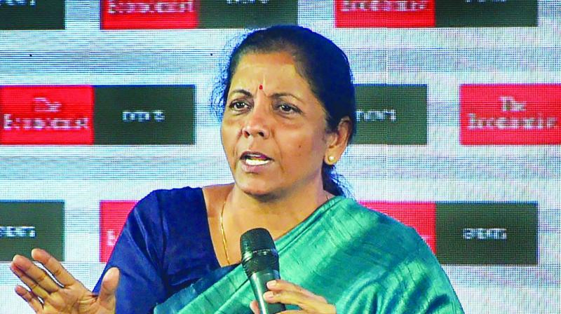 Union finance minister Nirmala Sitharaman. (Photo: PTI)