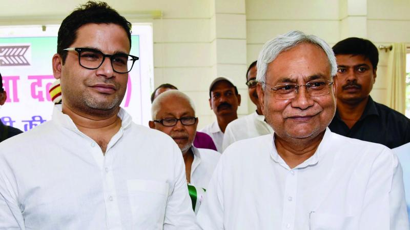 Janata Dal-United (JDU) vice president Prashant Kishor, who publicly took a stand contrary to that of his party on the citizenship law, offered his resignation to the party chief Nitish Kumar here on Saturday, sources said. (Photo: File)
