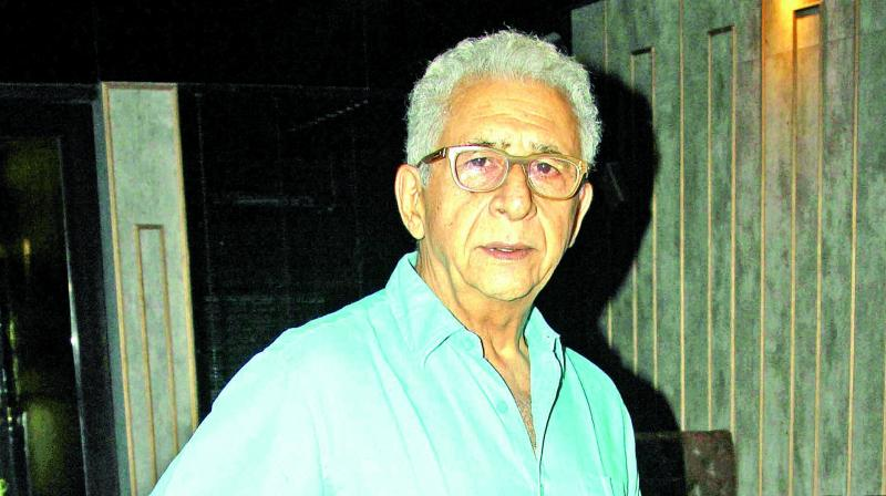 Naseeruddin Shah found himself at the centre of a major controversy over his remarks in reference to the killing of a policeman in Bulandshahr earlier this month. (Photo: File)