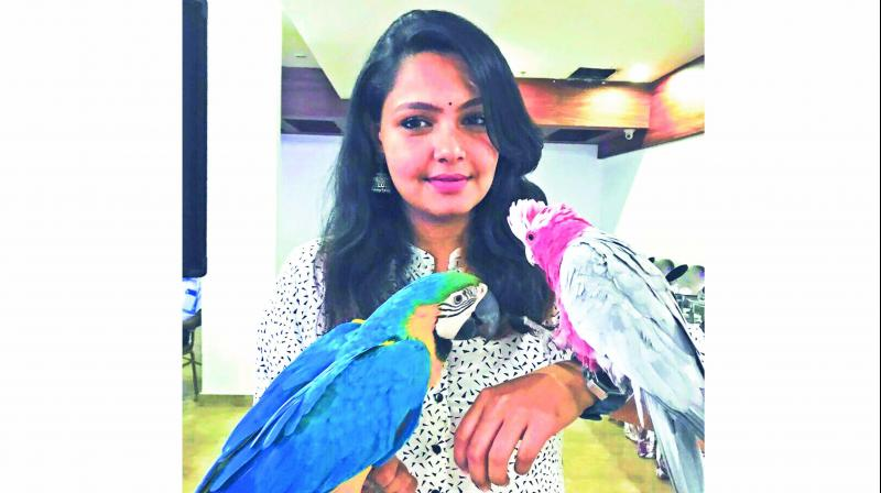 Rani's pet farm, which she inherited from her father, is home of a number of exotic animals and birds.
