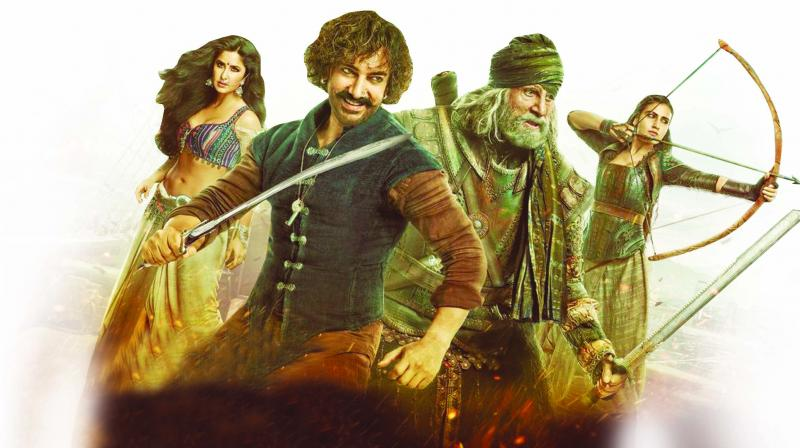 Thugs of Hindostan poster.