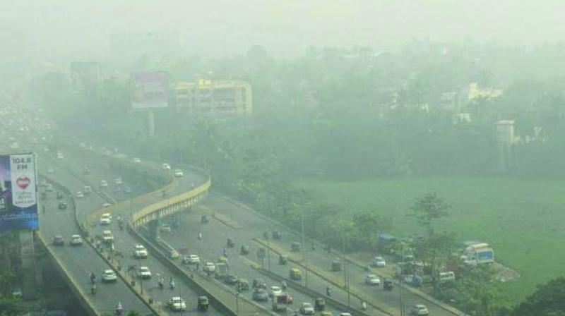 In the National Capital Region, Ghaziabad and Noida recorded 'severe' air quality while Gurgaon recorded 'very  poor' air quality. (Representational image)