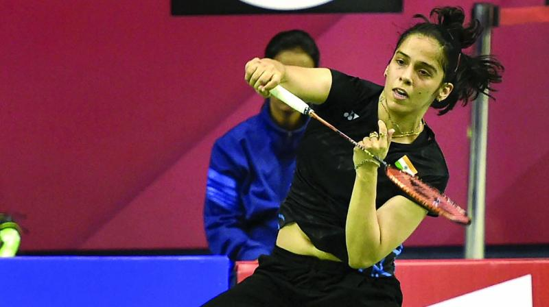 Nehwal had made a strong return to the badminton court on Wednesday as she registered a straight-game win over Thailand's Phittayaporn Chaiwan. (Photo: PTI)