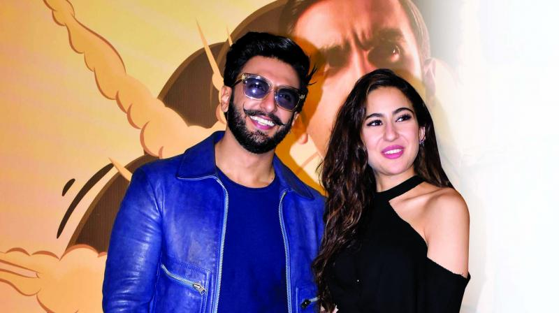 Sara who will be seen with Ranveer in Simmba reveals what she took back home from the actor.