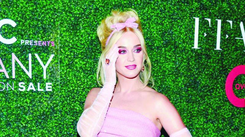 A picture of Katy Perry used for representational purpose only.