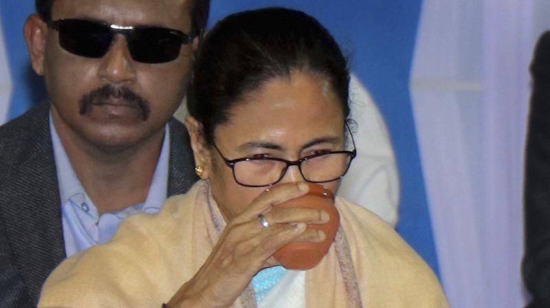 CM Mamata Banerjee  during a review meeting  in Birbhum district on Wednesday. (Photo: PTI)