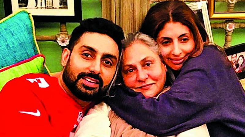 Everyone who saw  the Sunday-night episode of  Koffee With Karan noticed the restrain exercized over  the  conversation that host Karan Johar had with Abhishek and Shweta Bachchan.