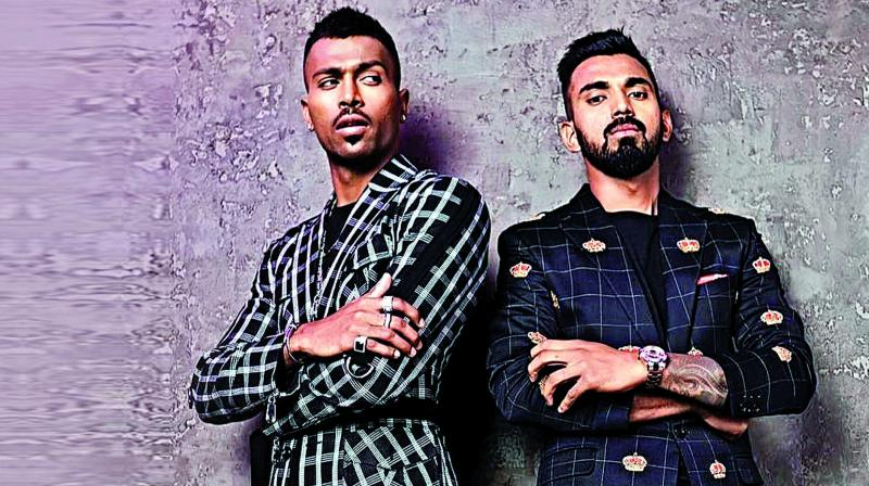 The lady who has been working with several athletes, and budding cricketers in India, has urged Hardik Pandya and L Rahul to undergo behavioural training before they represent India again.