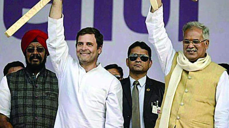 Chhattisgarh Chief Minister Bhupesh Baghel said on Saturday that only Rahul Gandhi can lead the Congress going forward. (Photo: File)