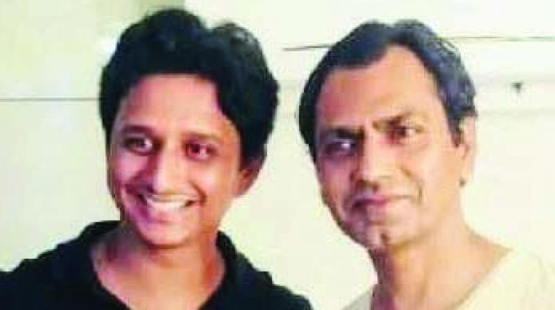 Ashish Pathode with Nawazuddin Siddiqui.