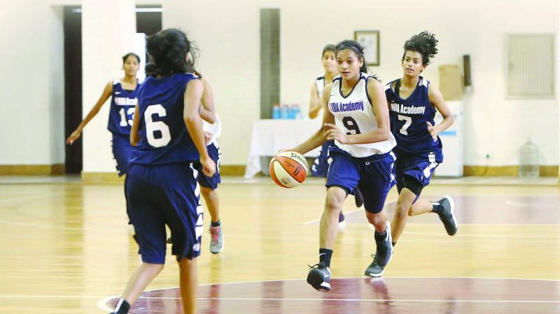 The NBA Academies Women's Program is a series of basketball development camps for top female prospects from outside the US.
