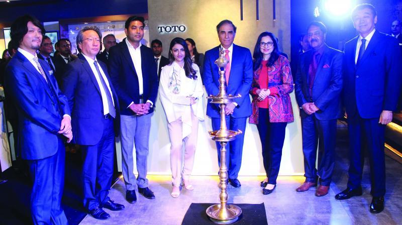 Soha Ali Khan inaugarates a store in the capital.