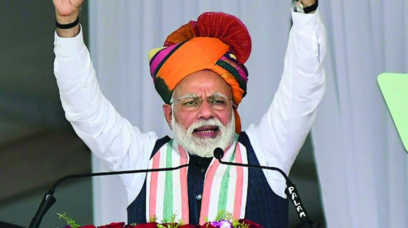 Prime Minister Modi is not the only one making post-poll outreach even though two phases of polling are still due. (Photo: PTI)